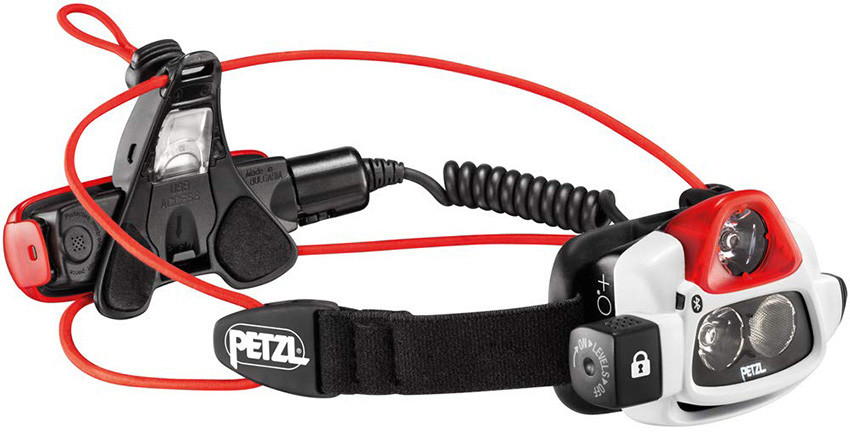 Mon Test Petzl Lampe frontale rechargeable NAO+ Bluetooth