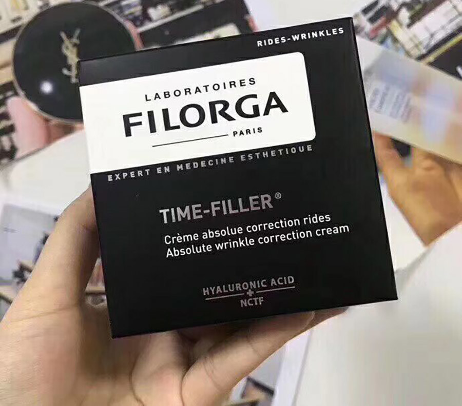 Test Comparatif Filorga time-filler crème absolue correction rides