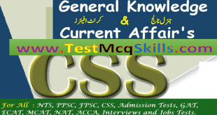 Pakistan Affairs Archives | TEST MCQ SKILLS