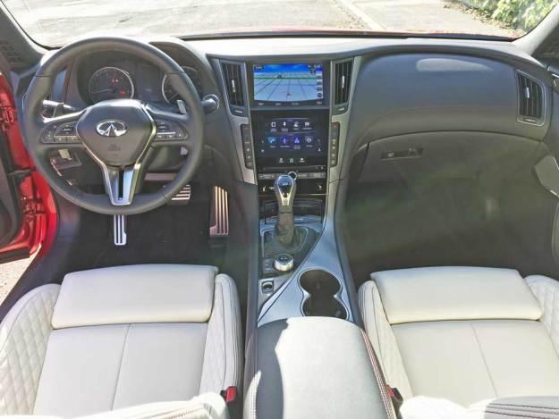 Infiniti-Q50-Red-Sport-400-AWD-Dsh