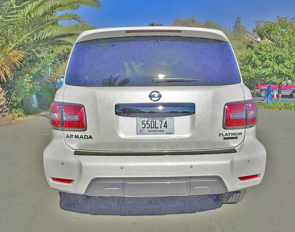 2020 Nissan Armada Platinum Reserve 4wd Automotive Industry News Car Reviews