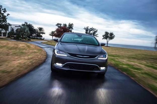2015-Chrysler-200-Black-Driving