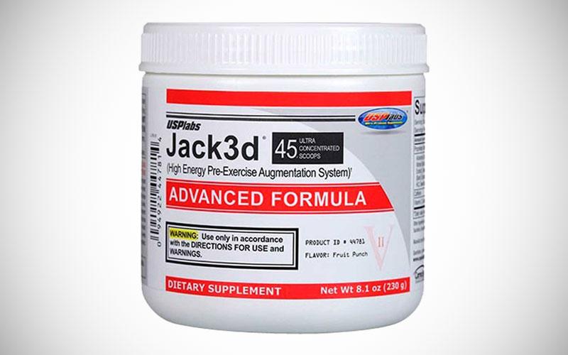Jack3d suplemento sirve para bajar de peso