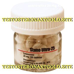 Winstrol oral XT GOLD 25mg x 100 tabletas stanoplex (Stano Ultra 25)