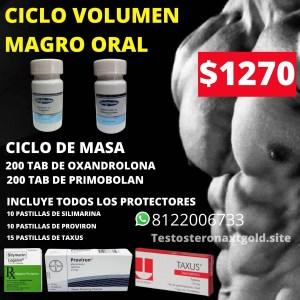 Ciclo Volumen Magro Oral