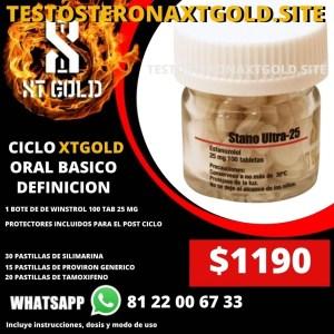 CICLO ORAL BASICO RAYADO CON WINSTROL