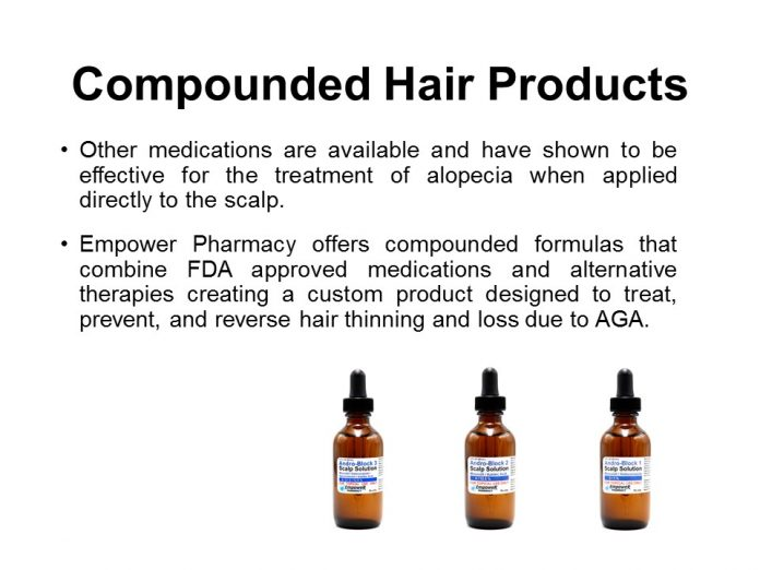 compounded hair loss products