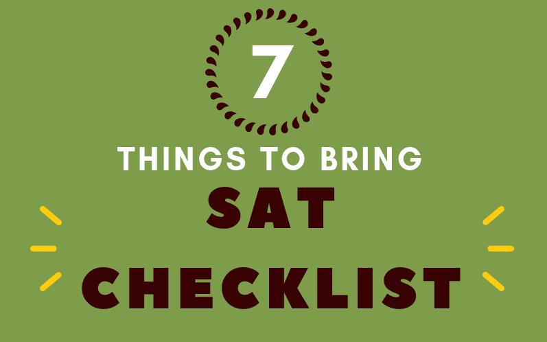 sat checklist