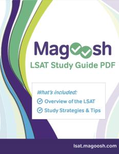 magoosh lsat study guide