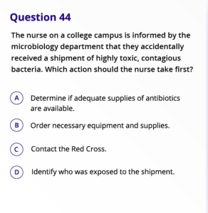 kaplan nclex question