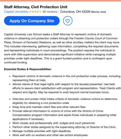 civil rights attorney job description