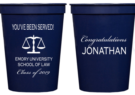 law grad party favors
