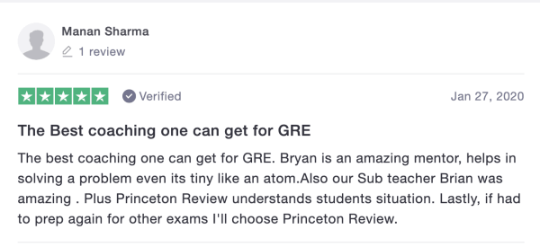 the princeton review gre review