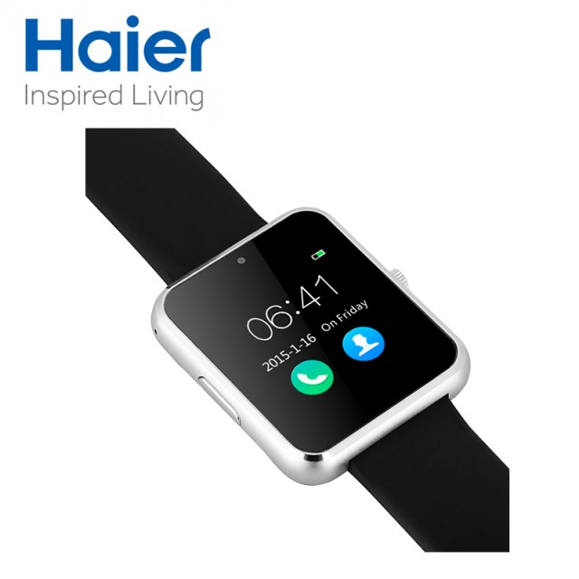 Haier-Iron-V1-MTK2502C-Smart-Watch-Heart-Rate-Monitor-smartwatch-Bluetooth-Connectivity-Apple-iphone-Android-Phone
