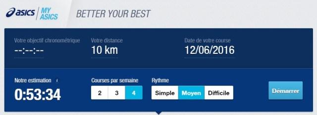 asics 10km