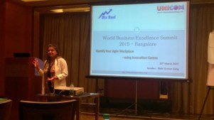 Speaking at World Business Cnference