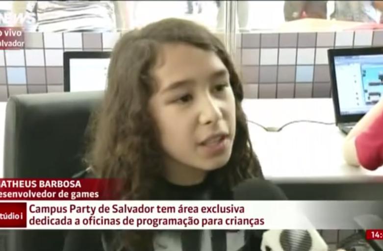 Campus Party de Salvador tem área dedicada a oficinas de programação para crianças