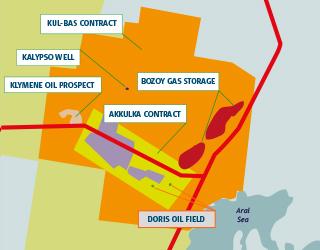 Doris Oil Field