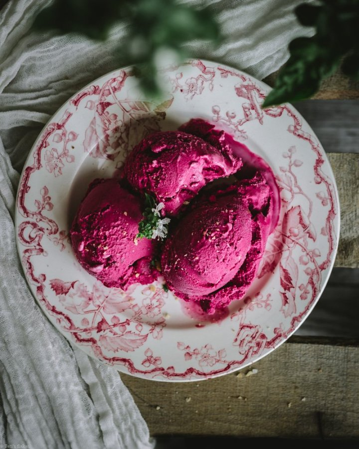 beetroot ice cream