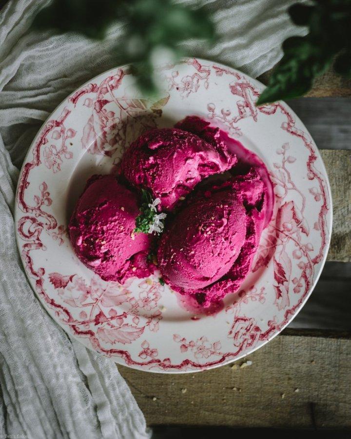 beetroot ice cream