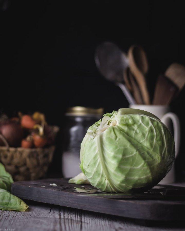 Λαχανοντολμάδες με αυγολέμονο