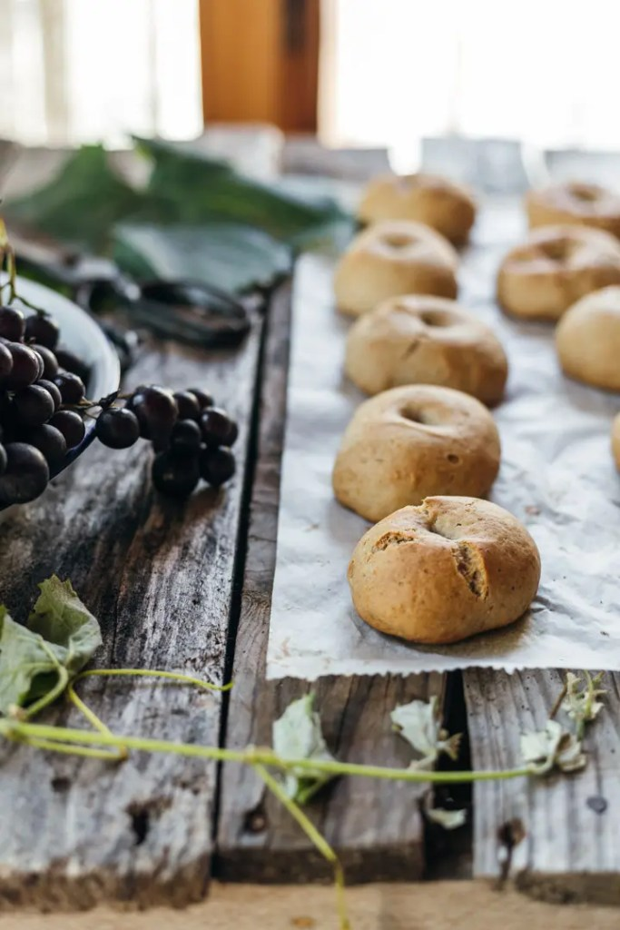 fluffy Greek grape must cookies