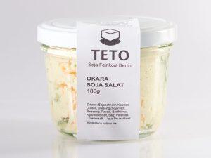 Glas Okara Soja Salat Teto Tofu
