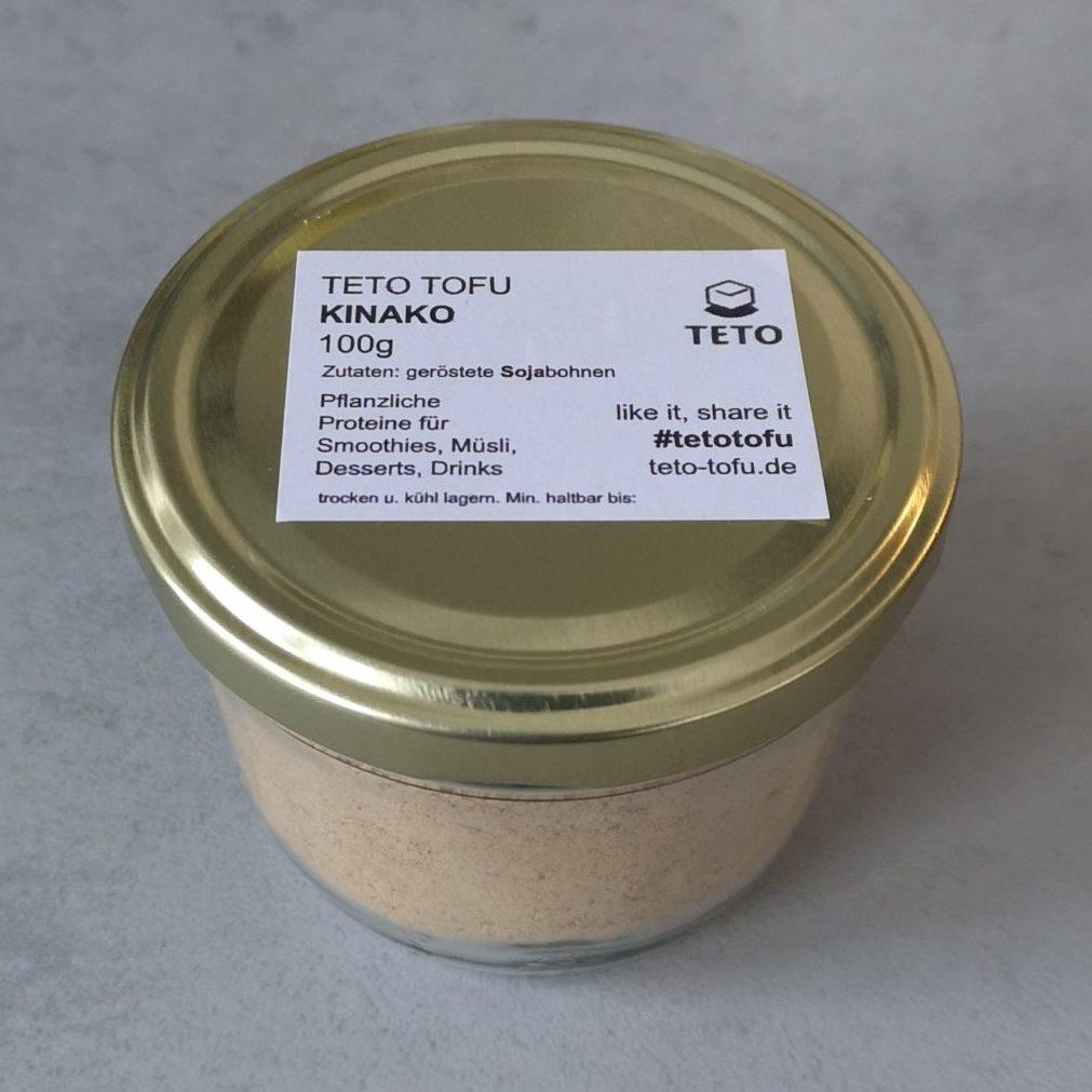 Kinako - Geröstetes Sojabohnenmehl von Teto Tofu