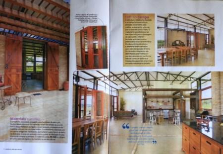 Revista Construir Mais por Menos n° 40, Editora Escala _Seção Jeitos de Morar_Projeto Sustentável_ páginas 38 e 39_Fevereiro de 2014