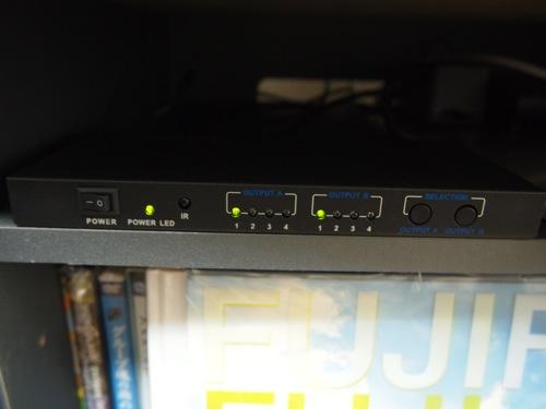 1台のPS3を2台のテレビで使いたくて出力2、入力4で4千円代のHDMIセレクターTHD42MSPを買いました!