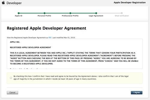 Apple Developer Registration 3