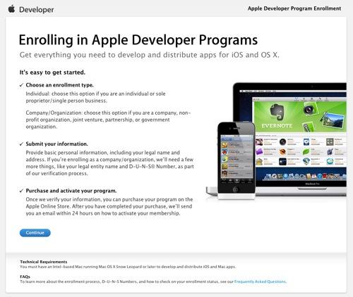 Enrolling in Apple Developer Programs  Apple Developer