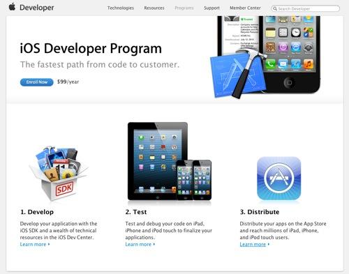 IOS Developer Program  Apple Developer