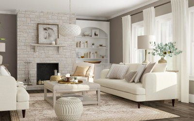 How to Re-decorate your living room under $100