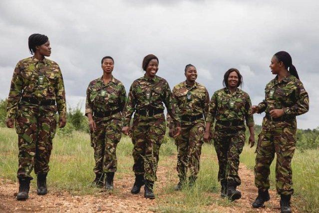Femmes rangers, Afrique du sud