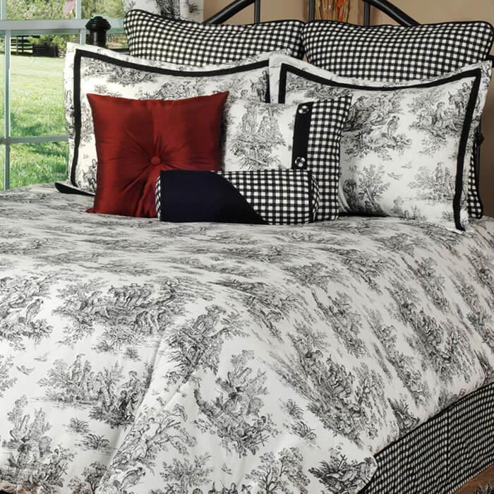 jamestown toile king comforter set