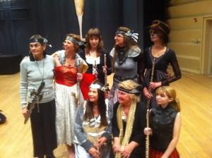 Norma, Holly Balogh, Student, Myself, Student Nancy, O'Anne, Sammy