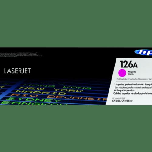 HP 126A Magenta Toner Cartridge CE313A