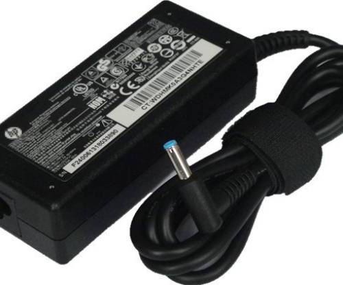 HP 18.5V 3.5A blue pin laptop adapter