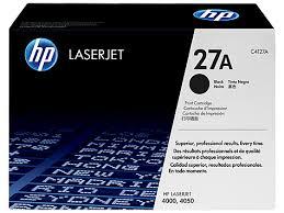 HP 27A Black Toner Cartridge
