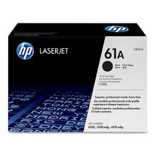 HP 61A Black Toner Cartridge