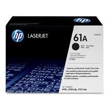 HP 61A Black Toner Cartridge