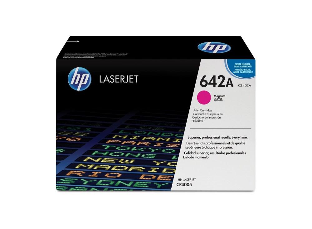 HP 642A Magenta Toner Cartridge
