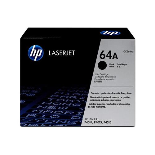 HP 64A Black Toner Cartridge CC364A