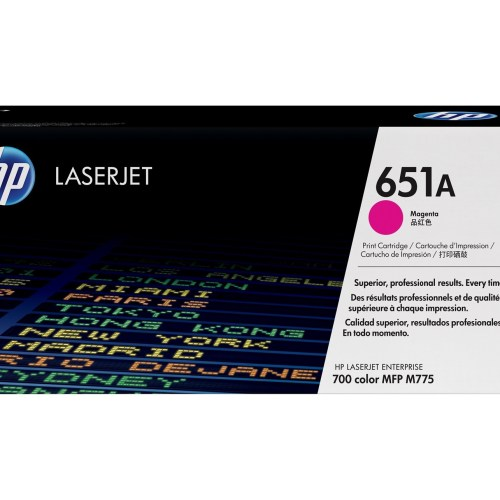 HP 651A Magenta Toner Cartridge