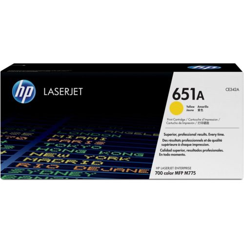HP 651A Yellow Toner Cartridge