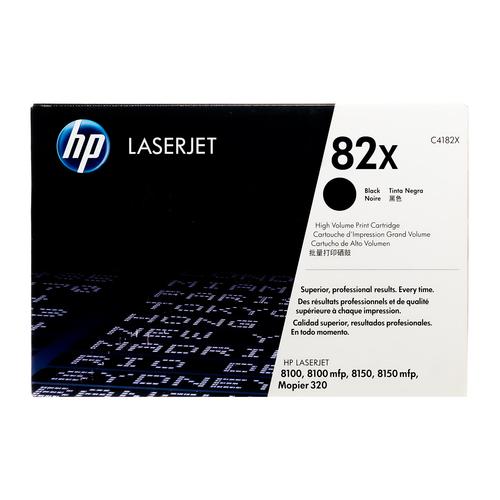 HP 82X Black Toner Cartridge