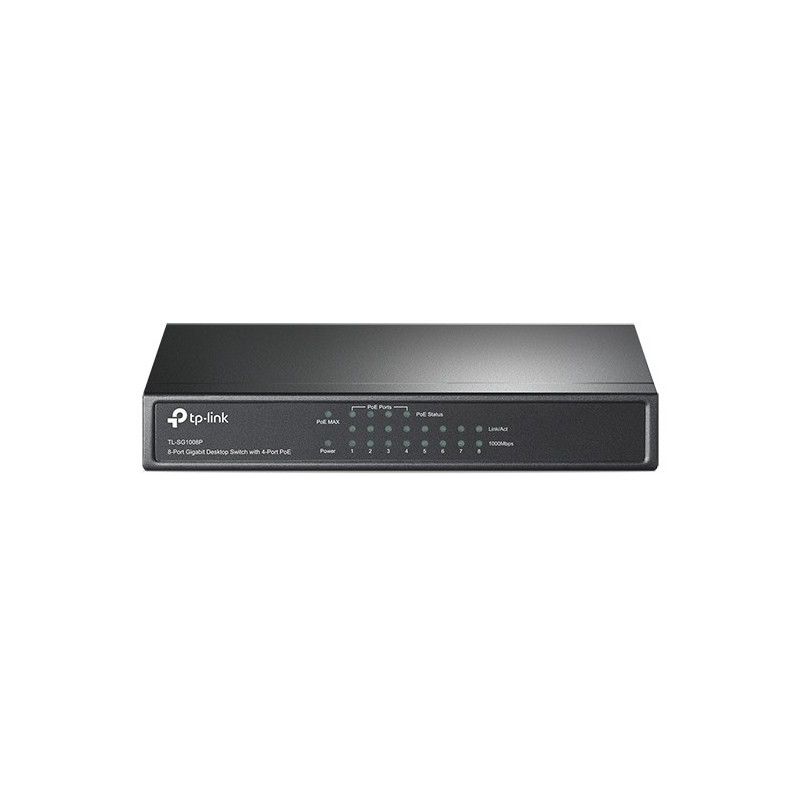Tp-link TL-SG1008P 8 Port Gigabit Desktop Switch