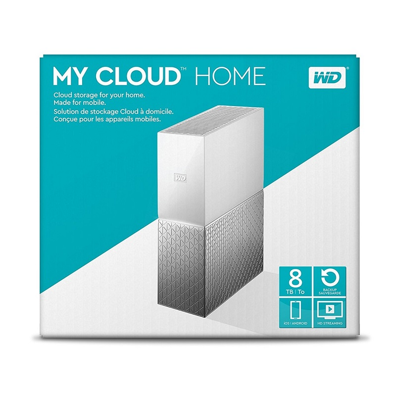 WD 8TB My Cloud Home Cloud Storage