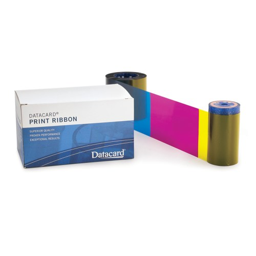 Datacard 534700-004-R010 YMCKT 5 Panel color Ribbon